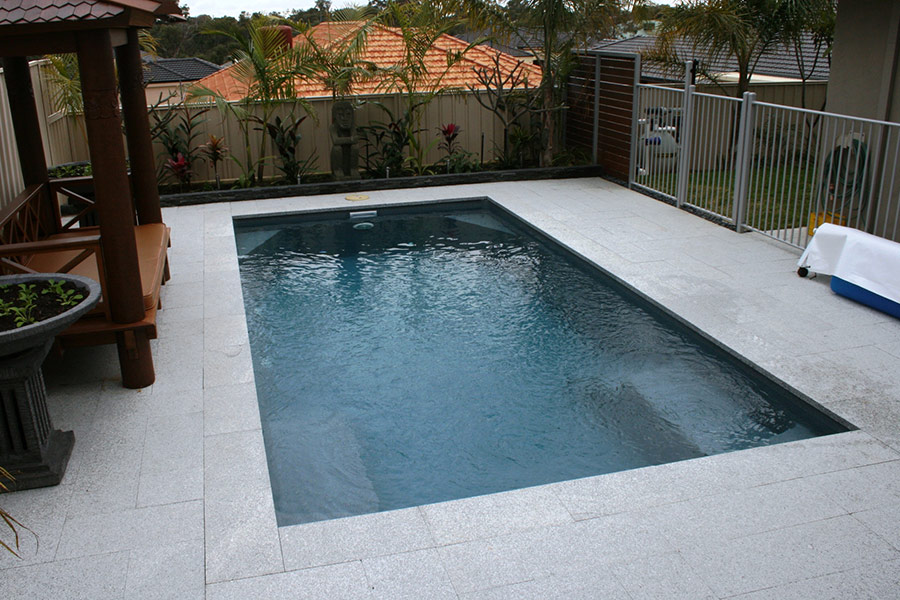 Athena Fibreglass Swimming Pool 6m X 3m Aqua Technics