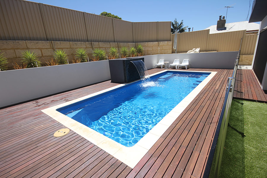 Caprice Fibreglass Swimming Pool 8m X 3m Aqua Technics