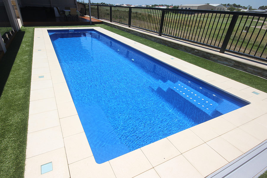 Milan Lap Pool Perth 10m X 3m Aqua Technics