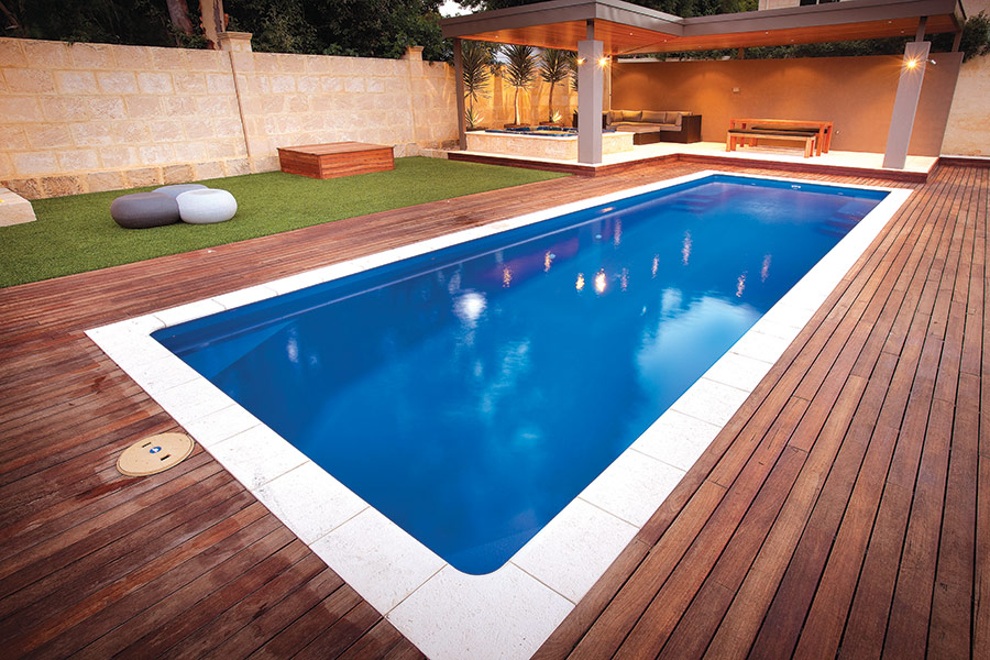 Aqua technics wins prestigious swimming pool award for Local swimming pool companies