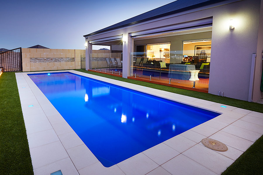 Milan lap pool perth 10m x 3m aqua technics Swimmingpool 3m